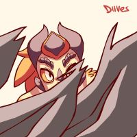 Dragon-person | Genesis by Diives