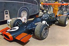 BRM John Surtees Montjuich 69