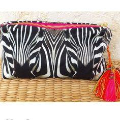 Zebra waterproof clutch Beachwear For Women, Bags, Accessories, Shopping, Jewelry, Fashion, Handbags, Jewlery, Moda