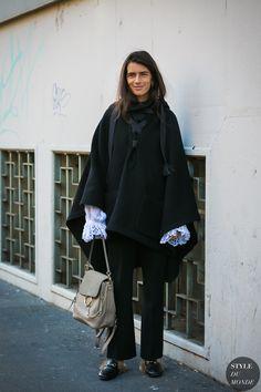 Milan Men's FW 2017 Street Style: Chiara Totire