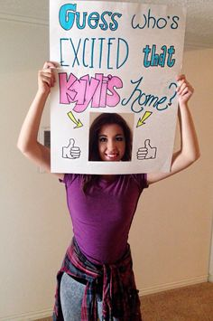Lds Missionary homecoming sign idea Excited