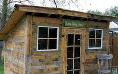 20 Awesome Ideas for Your Pallet House or Shelter - Page 5 of 21