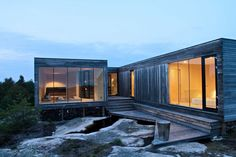 Casa de Verão Hvaler, Papper, Hvaler Islands, Norway, by Reiulf Ramstad Architects.