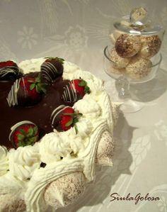 Torta Monia al cioccolato Luca Montersino Chocolate World, Cake Factory, Italian Desserts, Sweet Cakes, Camembert Cheese, Cake Recipes, Pudding, Sweets, Cooking