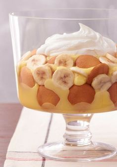 Easy Southern Banana Pudding – We kept all the big flavor of a classic Southern-style banana pudding recipe and whittled it down to a five-ingredient wonder. Prep time: just 20 minutes!