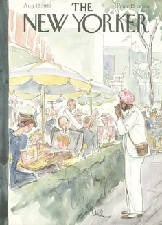 The New Yorker - Saturday, August 12, 1939 - Issue # 756 - Vol. 15 - N° 26 - Cover by : Perry Barlow