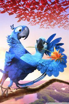 Birds happier than me Disney Kunst, Disney Art, Disney Movies, Disney Pixar, Rio Film, Rio Movie, Movie Wallpapers, Cute Cartoon Wallpapers, Hd Desktop