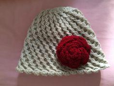 #crochet #handmade #hat #flower