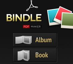 Instantly Craft Collaborative Books with Bindle for iOS   Great tips and ideas from @Tony Gebely Vincent