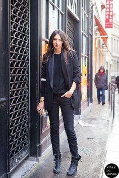 Géraldine Saglio - Page 20 - the Fashion Spot Vogue Fashion, Fashion Week, Paris Fashion, Fashion Photo, Girl Fashion, Street Fashion, Fashion Outfits, Casual Street Style, Looks Street Style