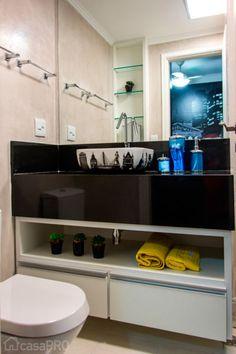 50 banheiros projetados por profissionais de CasaPRO - Casa