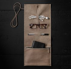 """""""This is Ground"""" Bandito Roll - French Grey Happy Hour Outfit, Fun Places To Go, Pen Case, Leather Projects, Color Inspiration, What To Wear, Sunglasses Case, French Grey, Sewing"""
