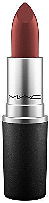 """MAC Lipstick in """"O"""" is the perfect fall lip color for warm skin tones. $17"""