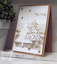 Stampin'Up! Erna Logtenberg (Love To Stamp): Totally Techniques Blog Hop, Merry Christmas !!