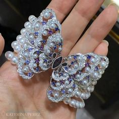 Brand new #MIKIMOTO @official_mikimoto #butterfly #bracelet with #alexandrite…