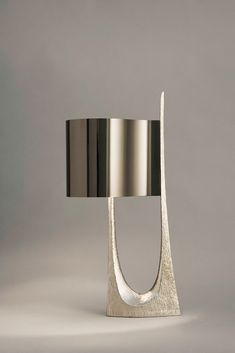 bronze table lamp with shade