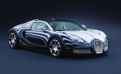 Bugatti Veyron L' Or Blanc Porcelain Sports Car