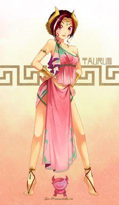 #manga #anime #NDK '09 - Taurus by zetallis.deviantart.com on @deviantART