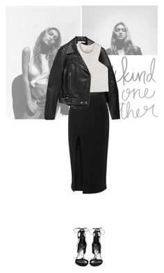 Black and White by angel-from-heaven on Polyvore featuring Shakuhachi, Elizabeth and James, Stuart Weitzman and Givenchy