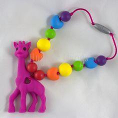 Wrap Snap: Fuchsia Rainbow Giraffe