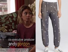 Modern Family: Season 7 Episode 1 Haley's Star Print Trackpants