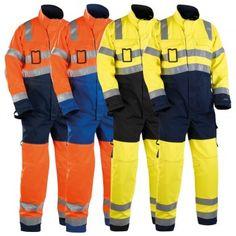 "Warnschutz Overall ""6373"" HIGH-VIS - BLAKLÄDER® #Blåkläder #warnschutzoverall #warnschutz"