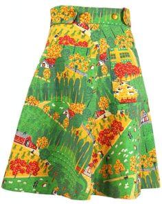 1960s Wrap Skirt