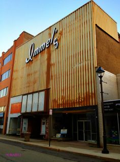 The Immel's building on 5th Avenue in McKeesport, PA