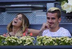Erika & Antoine Griezmann au Mutua Open Tennis de Madrid ...
