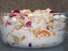 Ambrosia Marshmallow Fruit Salad