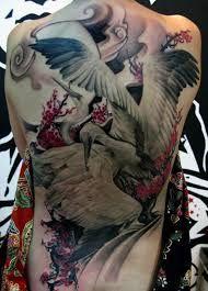 Bildergebnis für japanese tattoo stork