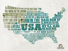VH1  VH1 Letterpress Lyrics  American Classics get a letterpress treatment for Vh1