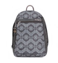 Hedgren HICPR11L   Lace Grey Print