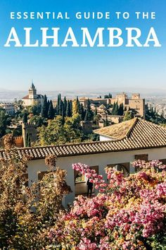Guide to visiting the beautiful Alhambra in Granada Spain - one of the best things to do in Spain. Includes tips and information for visiting the Alhambra, Generalife gardens and Nasrid Palaces. Must add to your Spain itinerary Spain Travel Guide, Europe Travel Tips, Travelling Europe, Italy Travel, Traveling, Barcelona, Menorca, Malaga, Cool Places To Visit