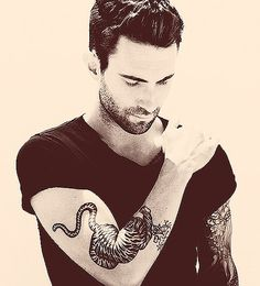 Adam Lavine - What is it about this guy?  He shouldn't be but he's so hot!