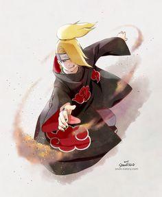 Naruto- Deidara by Snonfield on DeviantArt Sasunaru, Sasori And Deidara, Deidara Akatsuki, Narusasu, Naruto Shippuden, Boruto, Itachi, Naruto Art, Anime Naruto
