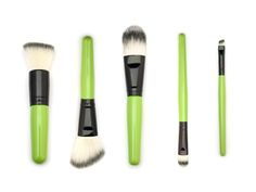 Zuii new all vegan brush set at Rapture Organic Salon Organic Makeup, Brush Set, Salons, Vegan, Beauty, Lounges, Face Brush Set, Beauty Illustration, Vegans