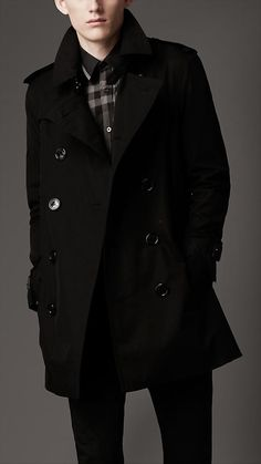 Burberry trench. A classic piece that should be in every man's wardrobe.