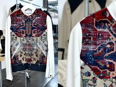 Tim Coppens Spring 2012 Persian rug jacket __ This is for the men's collection, but I would definitely wear & covet it.