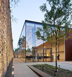 Iluminación natural y LED para un gran museo3