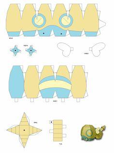 Pokemon Papercraft Templates