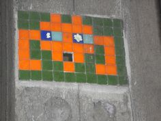 Space invader, London