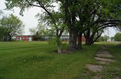 Forbes School as it once held North Dakota's hopefuls.