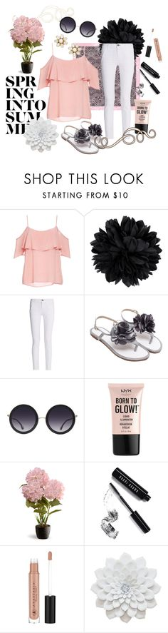 """""""School's Out for the Summer"""" by adele-h-pocketbook ❤ liked on Polyvore featuring BB Dakota, Gucci, rag & bone, Alice + Olivia, NYX, National Tree Company, Bobbi Brown Cosmetics, Anastasia Beverly Hills, Kate Spade and Summer"""
