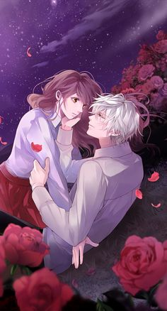 Romantic Anime Couples, Romantic Manga, Anime Couples Manga, Vampire Games, Vampire Boy, Hot Anime Guys, Anime Love, Vampires, Vampire Pictures