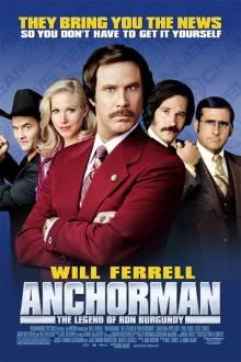 Anchorman: The Legend of Ron Burgundy movie review