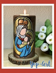 Christmas Inspiration, Candle Making, Pillar Candles, Projects To Try, Carving, Country, Craft, How To Make, Paper Bag Crafts