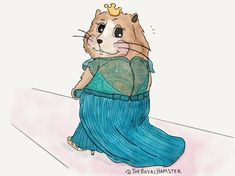 """The Royal Hamster on Twitter: """"When considering bridesmaids, just a reminder that #TheRoyalHamster looks good from every angle. ✨ *winks at Pippa*"""
