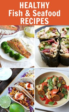 31 Healthy Recipes for Fish and Seafood Lovers VIA @fitfluential #fitfluential #eat