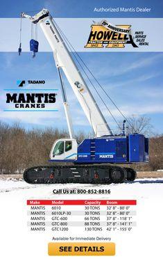 Anniversary Part, Cranes For Sale, Crawler Crane, Telescope, Tractors